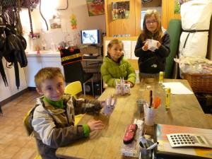 Atelier pédagogique - stage petit ânier