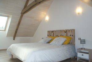 Une chambre du gîte de Ty Kalon Breizh - Gite lac de guerledan